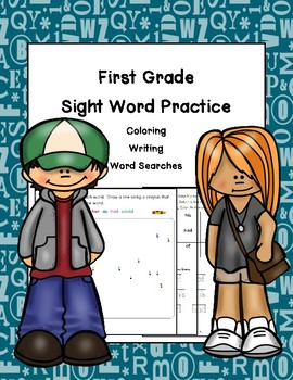 First Grade Sight Word Fluency Practice