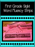 First Grade Sight Word Fluency Strips
