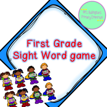 First Grade Sight Word Game
