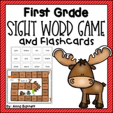 First Grade Sight Word Game and Flashcards (made with dysl