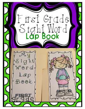 First Grade Sight Word Lap Book