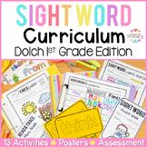 Dolch Sight Words Curriculum  - First Grade Words  | Dista