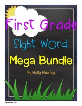 First Grade Sight Word Mega Bundle
