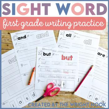 Sight Word Practice Vol. 2 (First Grade List)