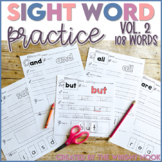 Sight Word Practice Vol. 2 (First Grade List) Distance Learning