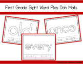 Sight Word Play Doh Mats: First Grade