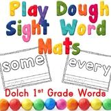 First Grade Sight Word Play Dough Mats Center Activity -OR