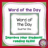 Free Download - First Grade Sight Word PowerPoints- Improv