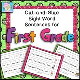 Sentence Building 1st Grade with Boom Cards | Sight Words