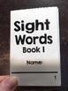 First Grade Sight Words Pritables, RF.1.3.G - Set of 8 Mini Books