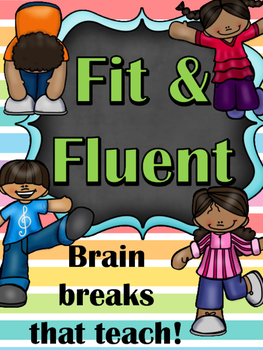 Fitness Brain Breaks - Sight Word Practice for the YEAR!