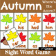 First Grade Sight Word Recognition Game for All Seasons Bundle