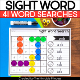 First Grade Sight Word Searches | Set 3
