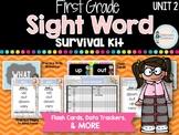 First Grade Sight Word Survival Kit UNIT 2