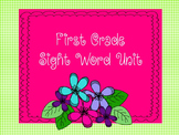 First-Grade Sight Word Unit-Fluency, multiple exemplars, c