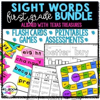 Treasures 1st Grade Sight Word Worksheets & Teaching