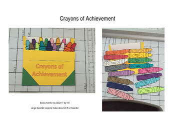 First Grade Sight Word and CCSS Crayons for Acheivement