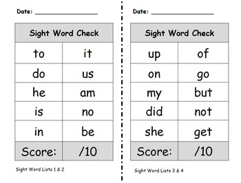First Grade Sight Word and Editing Sentence Year Pack