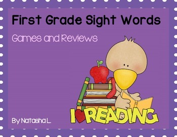 First Grade Sight Words Activities
