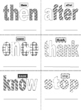 First Grade Sight Words Activity Cards Color and Print