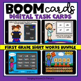 Sight Words Boom Cards | First Grade BUNDLE