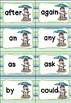 First Grade Sight Words Cards - Summer Themed