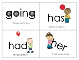 First Grade Sight Words - Flash Cards