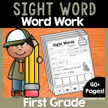 First Grade Sight Words No-Prep