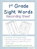 UPDATED: First Grade Sight Words / HFW Assessment - Lucy C