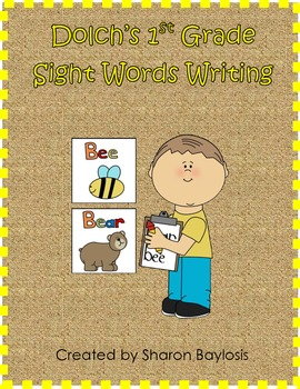 First Grade Sight Words Writing Practice