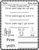First Grade Sight Words in Context