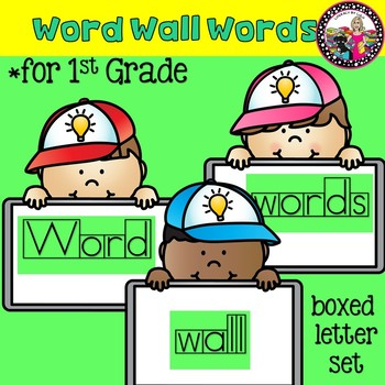 First Grade Sight and High Frequency in Box Font Words for