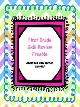 First Grade Skill Review Freebie