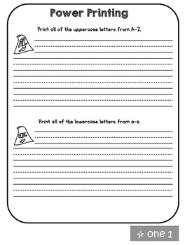 First Grade Skills Review Packet