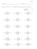 First Grade Skills Test Kit