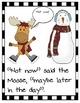 First Grade Snowmen Reading and Math Games