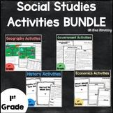 First Grade Social Studies Bundle