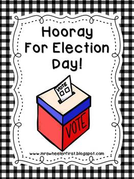First Grade Social Studies: Election Day