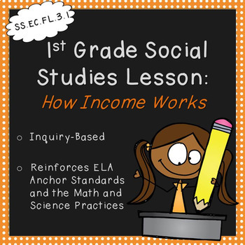 First Grade Social Studies Lesson-How Income Works