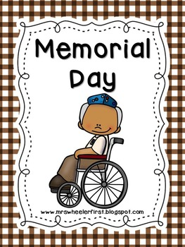 First Grade Social Studies: Memorial Day