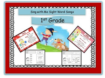 Sight Word Songs, Ist Grade, CD