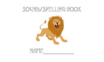 First Grade Sound Spelling Book