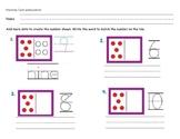 First Grade Spatial Patterns Worksheet