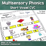Spelling and Phonics Instruction for First Grade-Week 1 CVC Pattern
