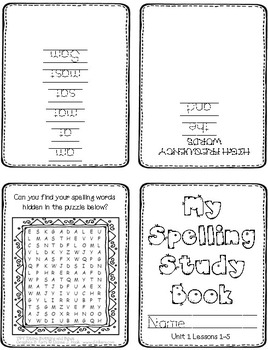 First Grade Spelling Homework // UNIT 1 [FREE for a limited time to try it out!]