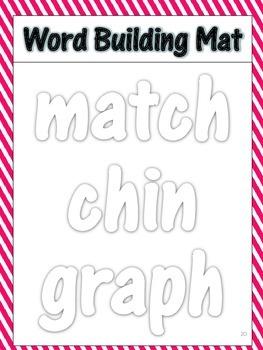 First Grade Spelling Mats