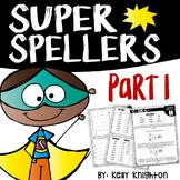 First Grade Spelling Part 1