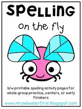 First Grade Spelling Practice