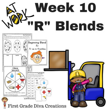 Spelling and Phonics Activities for First Grade! Week 10: Consonant L Blends
