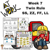 Spelling and Phonics Instruction for First Grade-Week 7 Double Consonant Endings